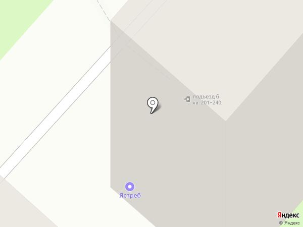 Ястреб на карте Липецка