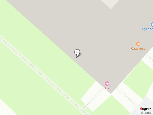Стрекоза на карте Липецка