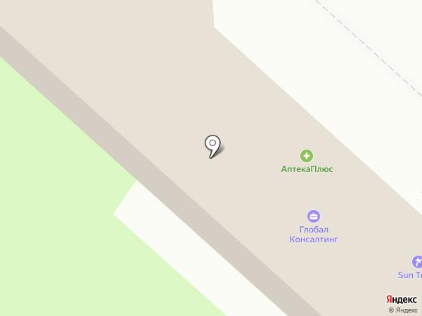 Элите на карте Липецка