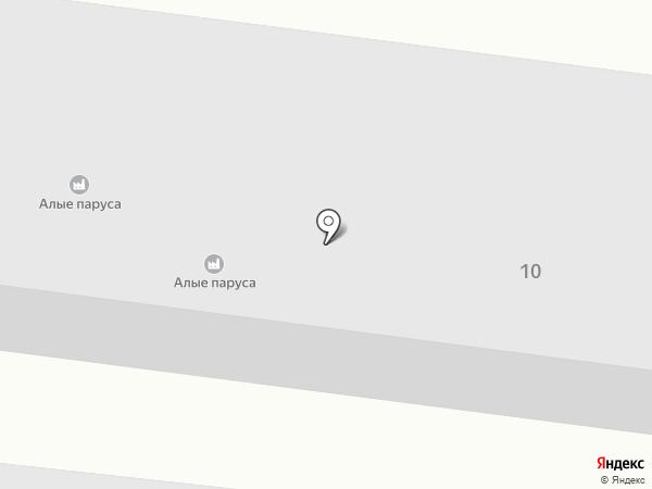 Ксак на карте Чалтыря