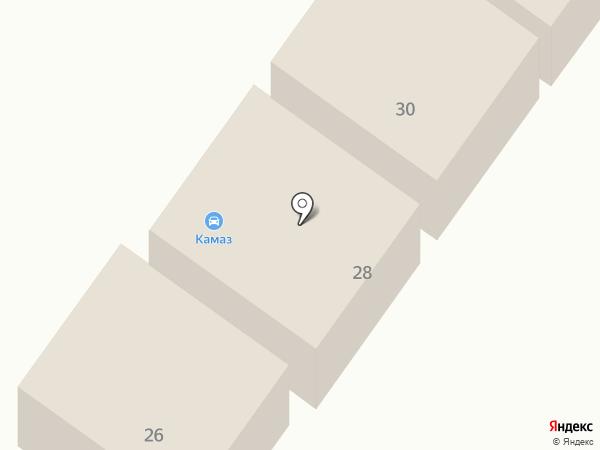 Магазин автозапчастей на карте Чалтыря