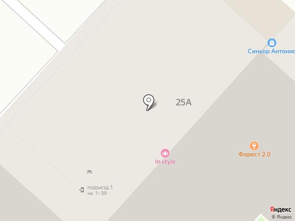 Опорный пункт №1 на карте Липецка