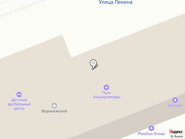 Технострой на карте Сырского