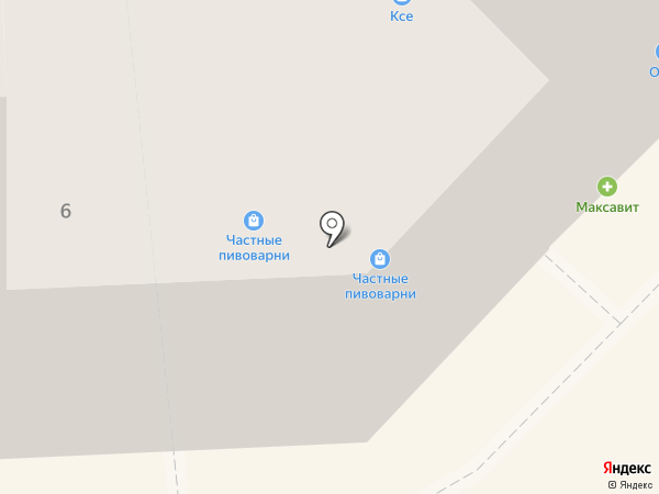 Кантри на карте Липецка