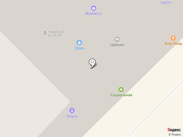 Видеолайн на карте Липецка