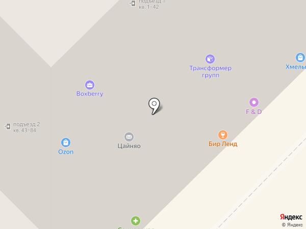 Сладкоежка на карте Липецка