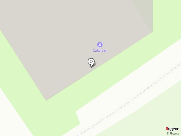 Планета ЭлектрикА на карте Липецка