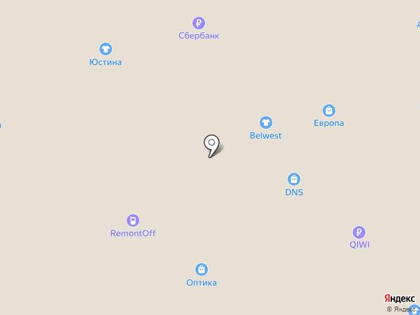 Белорусская косметика на карте Липецка