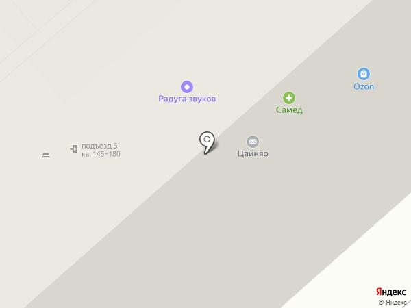 Фармакор на карте Липецка