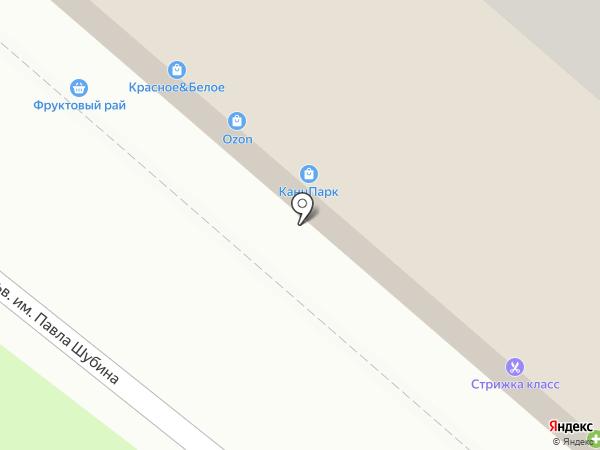 Кристалл-Лефортово на карте Липецка