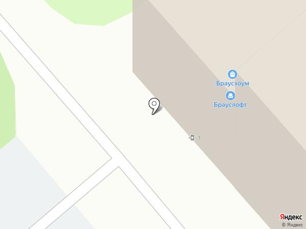 Ориус на карте Липецка