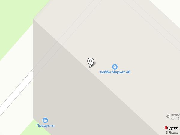 Новый район на карте Липецка