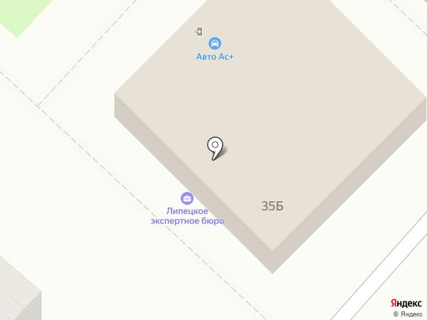 СтильСтрой на карте Липецка