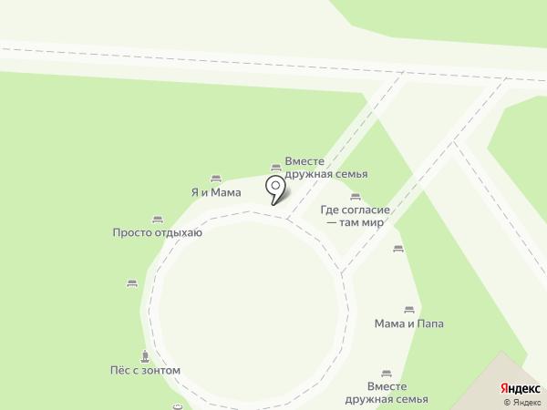 Блинная на карте Липецка