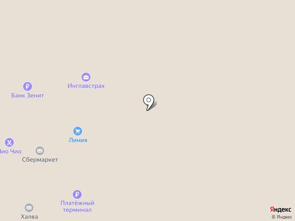 Сундучок на карте Липецка