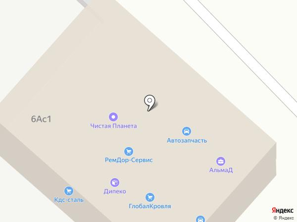 Анфас на карте Липецка