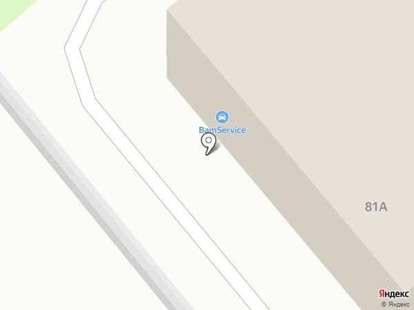 Автосервис по установке сигнализации на карте Липецка