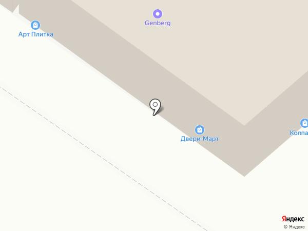 ДВЕРИ-МАРТ на карте Липецка