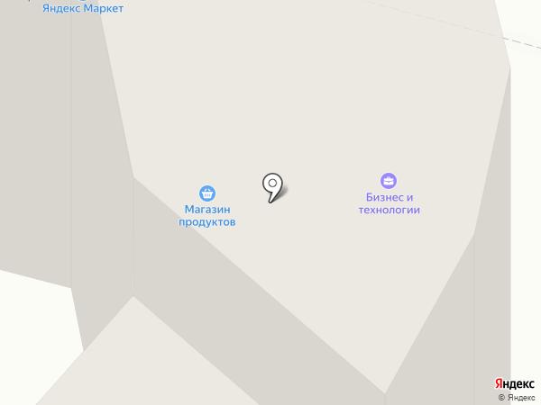 Конфета на карте Липецка