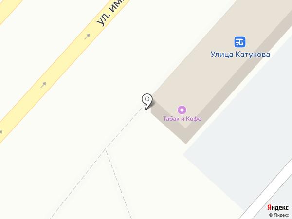 Магазин продуктов на карте Липецка