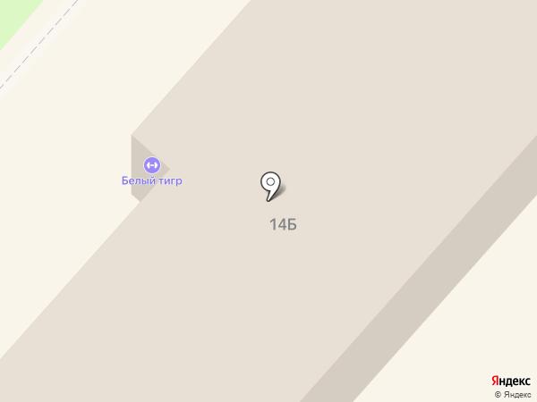 Квант на карте Липецка