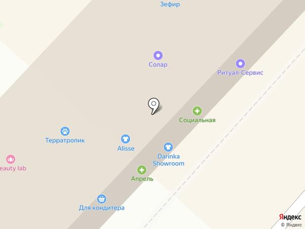 Алекс М на карте Липецка