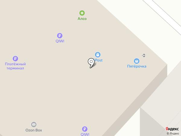 Магазин канцтоваров на карте Липецка
