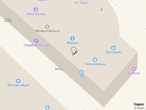 Медтехника на карте Липецка