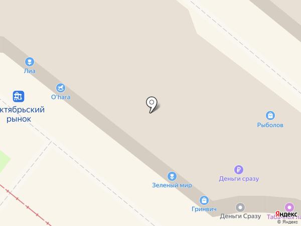 Пряжа на карте Липецка