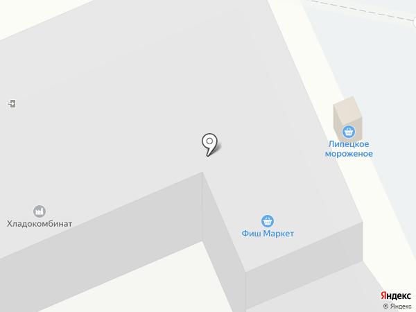 Фиш-Маркет на карте Липецка