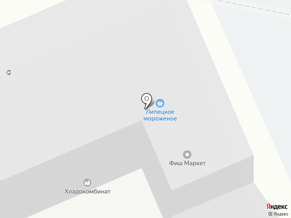 Продторг на карте Липецка