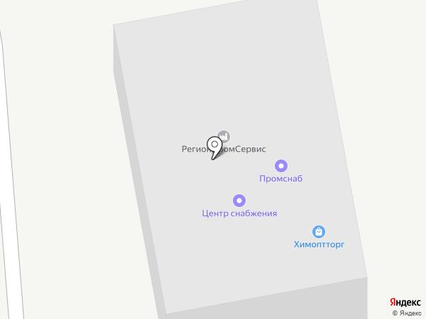 Химоптторг на карте Липецка
