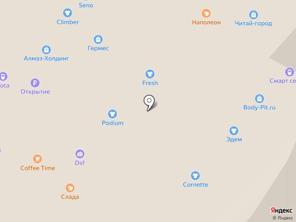 Rieker на карте Липецка