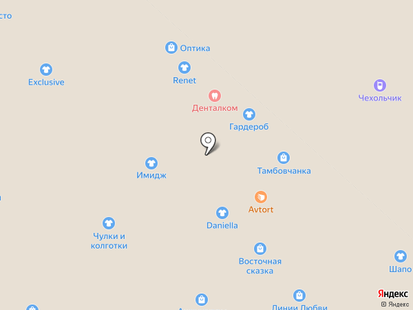 Солнышко на карте Липецка