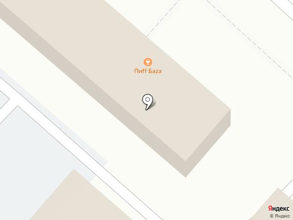 Пиff БAZA на карте Липецка