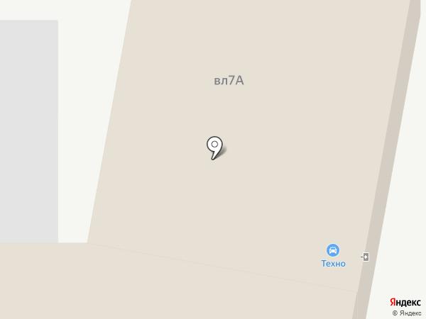 Техно на карте Липецка