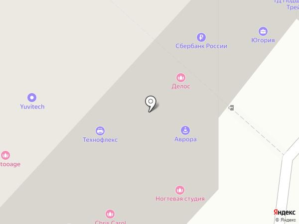 Site-ups на карте Липецка