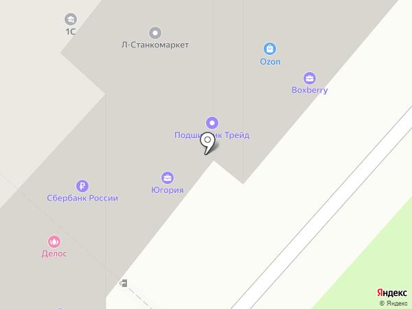 Городская похоронная служба на карте Липецка