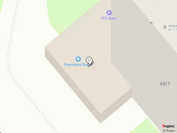 Адвокатский кабинет Мартыновича Г.Ф. на карте Липецка