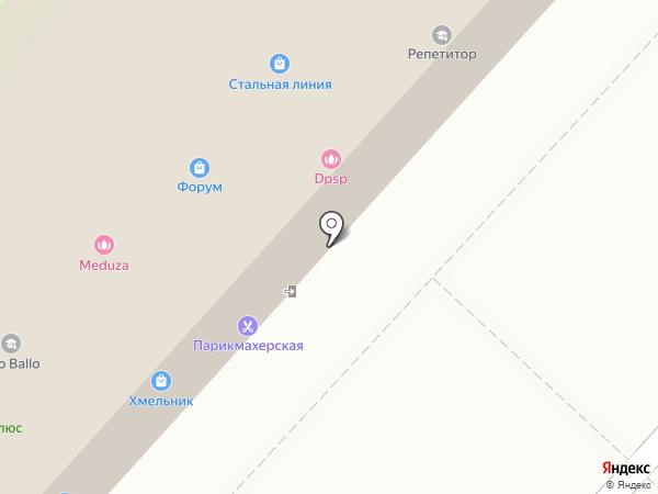 Дикси на карте Липецка