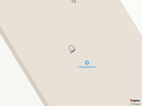 Кирпичный дом на карте Липецка