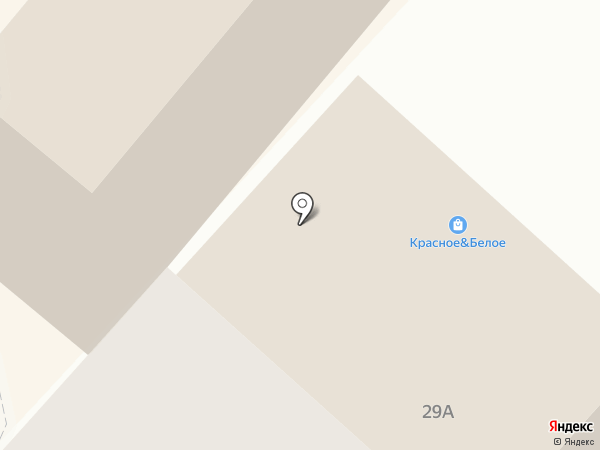 Ёрш на карте Липецка
