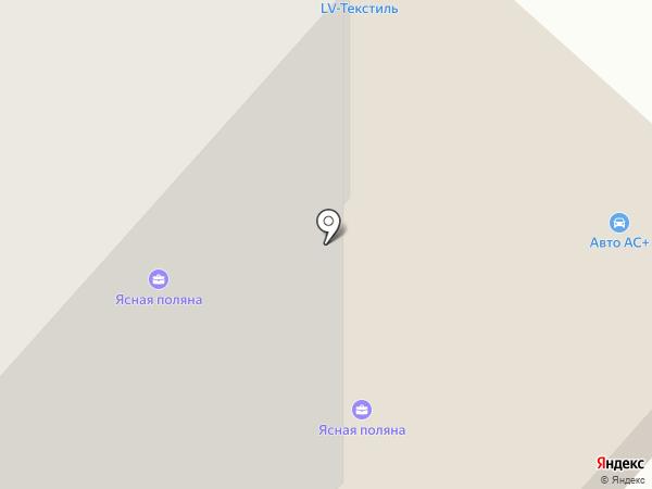 Дверлион на карте Липецка