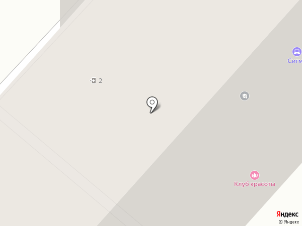 Бранд на карте Липецка