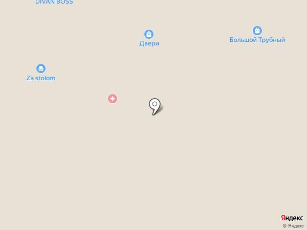 Ковровый дом на карте Липецка