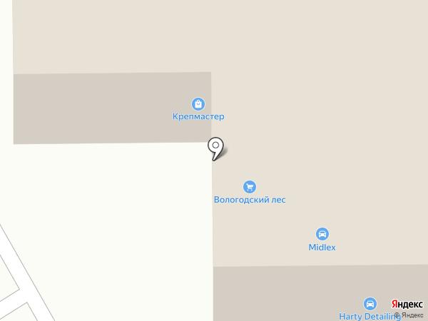 ЛесСтрой на карте Липецка