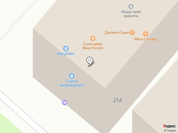 КонтрактПол на карте Липецка