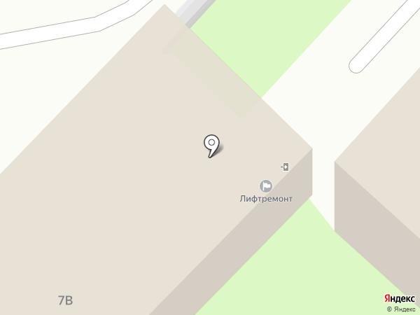 Лифтремонт на карте Липецка