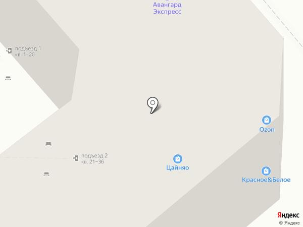 Минимакс на карте Липецка