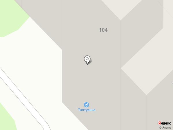 Машенька на карте Липецка